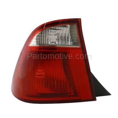 Aftermarket Auto Parts - TLT-1210LC CAPA 05-07 Ford Focus Sedan Taillight Taillamp Rear Brake Light Lamp Driver Side