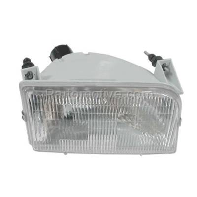 Aftermarket Auto Parts - HLT-1078RC CAPA Ford Bronco/Pickup Truck Headlight Headlamp Head Light Lamp Passenger Side
