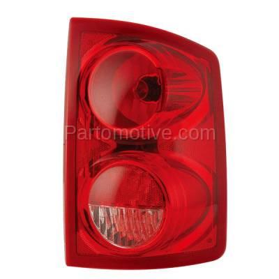 Aftermarket Auto Parts - TLT-1153RC CAPA 05-11 Dakota Truck Taillight Taillamp Rear Brake Light Lamp Passenger Side