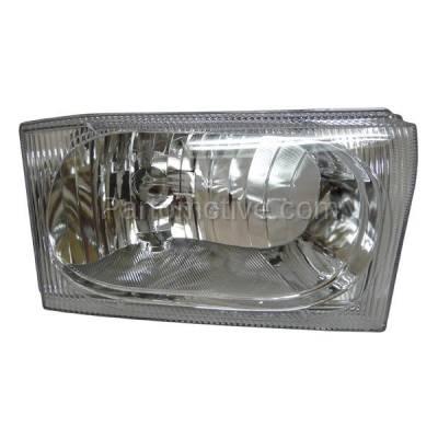 Aftermarket Auto Parts - HLT-1164RC CAPA Ford Excursion & Pickup Truck Headlight Headlamp Head Light Passenger Side