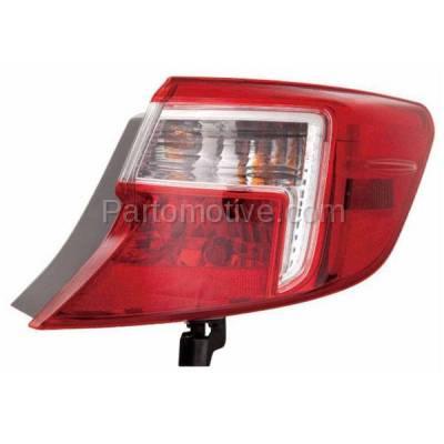 Aftermarket Auto Parts - TLT-1658RC CAPA 12-13 Camry & Hybrid Taillight Taillamp Brake Light Lamp Passenger Side RH