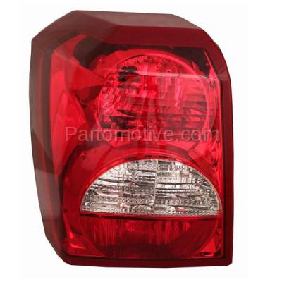 Aftermarket Auto Parts - TLT-1388LC CAPA 08-12 Dodge Caliber Taillight Taillamp Rear Brake Light Lamp Driver Side LH