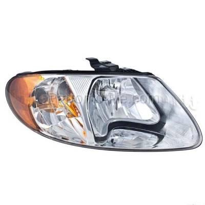 Aftermarket Auto Parts - HLT-1091RC CAPA 01-07 Dodge Caravan, Town & Country, Voyager Headlight Headlamp Passenger