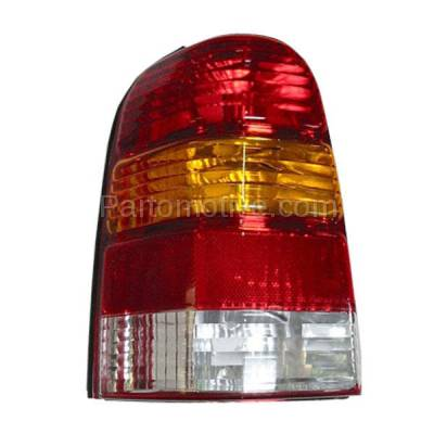 Aftermarket Auto Parts - TLT-1019LC CAPA 01-07 Ford Escape Taillight Taillamp Rear Brake Light Lamp Driver Side LH