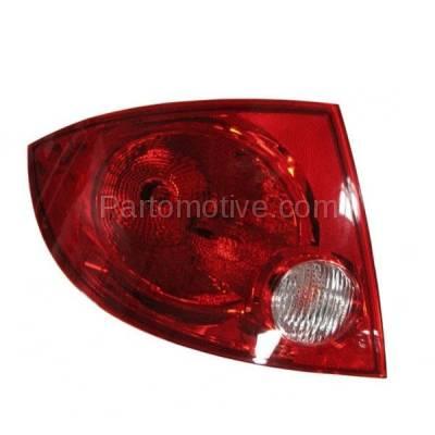 Aftermarket Auto Parts - TLT-1174LC CAPA 05-10 Cobalt G5 Sedan Taillight Taillamp Rear Brake Light Lamp Driver Side