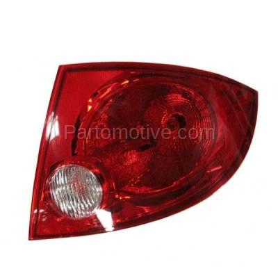 Aftermarket Auto Parts - TLT-1174RC CAPA Cobalt G5 Sedan Taillight Taillamp Rear Brake Light Lamp Passenger Side RH