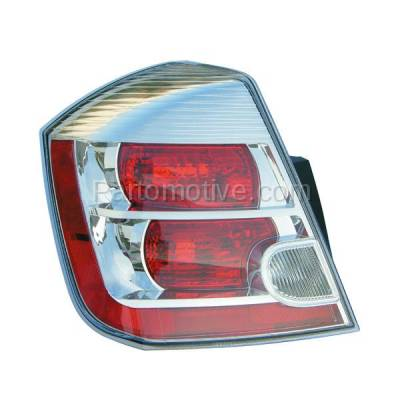 Aftermarket Auto Parts - TLT-1303LC CAPA 07-09 Sentra 2.0L Taillight Taillamp Rear Brake Light Lamp Driver Side LH