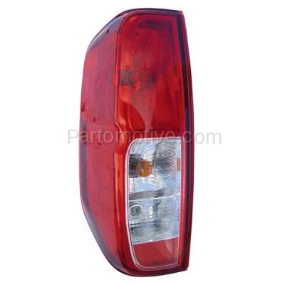 Aftermarket Auto Parts - TLT-1184LC CAPA Frontier & Equator Taillight Taillamp Rear Brake Light Lamp Driver Side LH