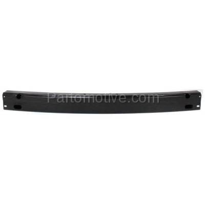 Aftermarket Replacement - BRF-1851R 1997-2001 Toyota Camry (USA Built) & 1999-2003 Solara Rear Bumper Impact Face Bar Crossmember Reinforcement Primed Made of Steel