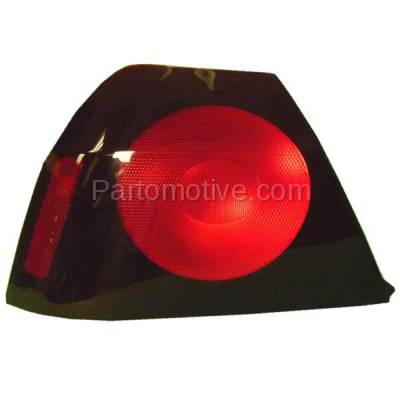 Aftermarket Auto Parts - TLT-1134LC CAPA 04-05 Chevy Impala Taillight Taillamp Rear Brake Light Lamp Driver Side LH