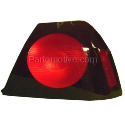 Aftermarket Auto Parts - TLT-1134RC CAPA 04-05 Chevy Impala Taillight Taillamp Rear Brake Light Lamp Passenger Side