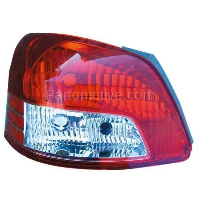 Aftermarket Auto Parts - TLT-1328LC CAPA 06-12 Yaris Sedan Taillight Taillamp Rear Brake Light Lamp Driver Side LH