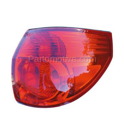 Aftermarket Auto Parts - TLT-1300RC CAPA 06-10 Sienna Taillight Taillamp Rear Brake Outer Light Lamp Passenger Side