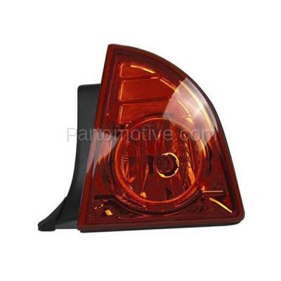 Aftermarket Auto Parts - TLT-1391RC CAPA 08-12 Malibu LS LT Hybrid Taillight Taillamp Light Lamp Passenger Side RH