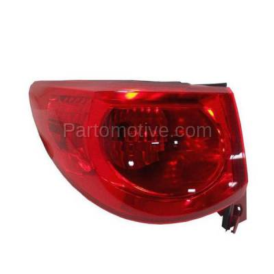 Aftermarket Auto Parts - TLT-1608LC CAPA 09-12 Chevy Traverse Taillight Taillamp Rear Brake Light Lamp Driver Side L