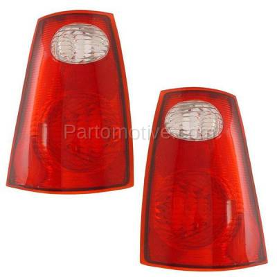 Aftermarket Auto Parts - TLT-1049LC & TLT-1049RC CAPA Pair 01-05 Explorer Sport Trac Taillight Taillamp Light Lamp Left Right Set