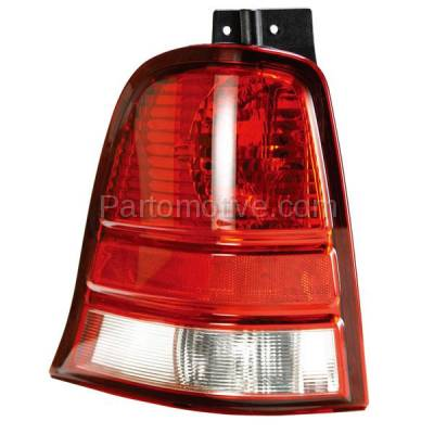 Aftermarket Auto Parts - TLT-1098LC CAPA 04-07 Ford Freestar Taillight Taillamp Rear Brake Lamp Light Driver Side LH