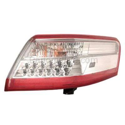 Aftermarket Auto Parts - TLT-1657RC CAPA 10-11 Camry Hybrid Taillight Taillamp Rear Brake Light Lamp Passenger Side