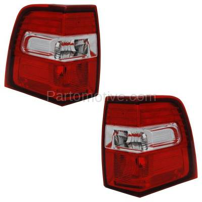 Aftermarket Auto Parts - TLT-1348LC & TLT-1348RC CAPA 07-13 Expedition Taillight Taillamp Brake Light Lamp Left & Right Set PAIR