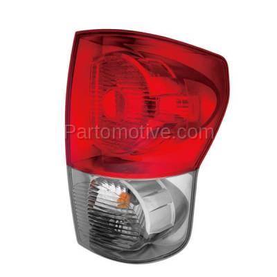 Aftermarket Auto Parts - TLT-1326RC CAPA 07-09 Tundra Truck Taillight Taillamp Rear Brake Light Lamp Passenger Side