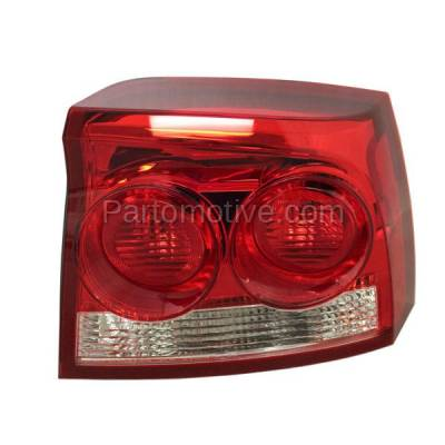 Aftermarket Auto Parts - TLT-1599RC CAPA 09-10 Charger Taillight Taillamp Rear Brake Light Lamp Passenger Side RH R