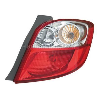 Aftermarket Auto Parts - TLT-1605RC CAPA 09-13 Matrix Taillight Taillamp Rear Brake Light Lamp Passenger Side RH R