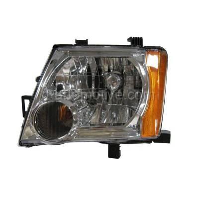 Aftermarket Auto Parts - HLT-1286LC CAPA 05-12 Xterra Headlight Headlamp Front Head Light Lamp Driver Side SE PRO-4X