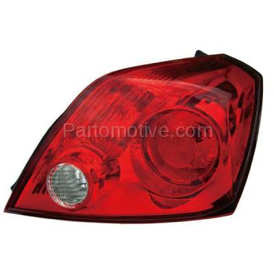 Aftermarket Auto Parts - TLT-1385RC CAPA Taillight Taillamp Rear Brake Light Passenger Side For 08-13 Altima Coupe