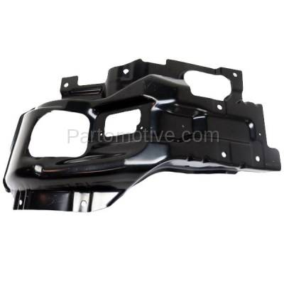 Aftermarket Replacement - BBK-1259L 2015-2019 GMC Sierra 2500HD & 3500HD Front Bumper Face Bar Outer Retainer Mounting Brace Bracket Made of Steel Left Driver Side