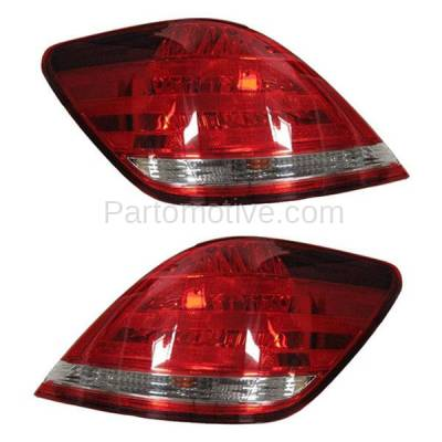 Aftermarket Auto Parts - TLT-1284LC & TLT-1284RC CAPA 05-07 Avalon Taillight Taillamp Brake Light Outer Lamp Left Right Set PAIR