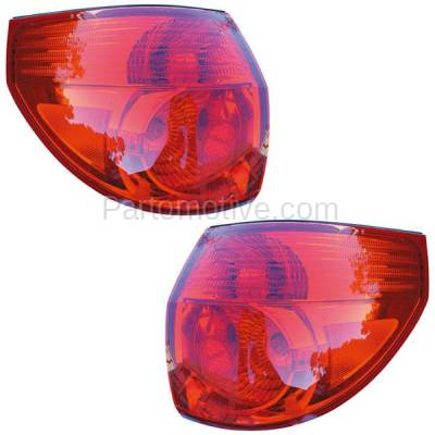 Aftermarket Auto Parts - TLT-1300LC & TLT-1300RC CAPA 06-10 Sienna Taillight Taillamp Brake Outer Light Lamp Left Right Set PAIR