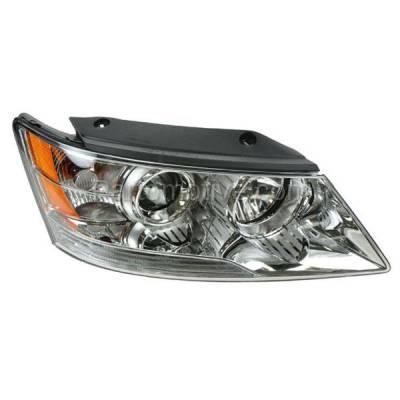 Aftermarket Auto Parts - HLT-1505RC CAPA Headlight Headlamp Front Head Light Lamp Passenger Side R For 09-10 Sonata