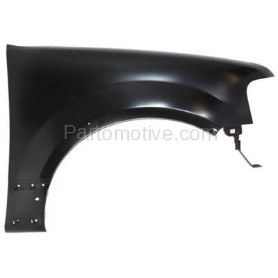 Aftermarket Replacement - FDR-1265RC CAPA 2007-2017 Ford Expedition & 2007-2014 Lincoln Navigator (V6/V8 Engine) Front Fender Quarter Panel (with Flares) Right Passenger Side