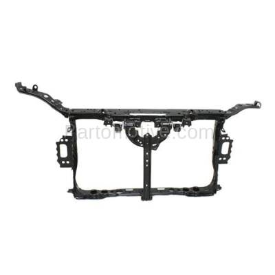 Aftermarket Replacement - RSP-1458 2011-2017 Lexus CT200h (Base, F Sport) Hatchback (with Upper Tie Bar) Front Center Radiator Support Core Assembly Primed Made of Steel