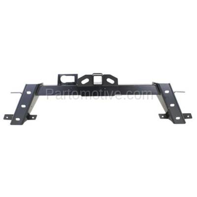 Aftermarket Replacement - BRF-1210R 2009-2014 Ford F-Series F150 (Styleside) (with Base Class III Tow Hitch) Rear Bumper Impact Bar Crossmember Reinforcement Steel