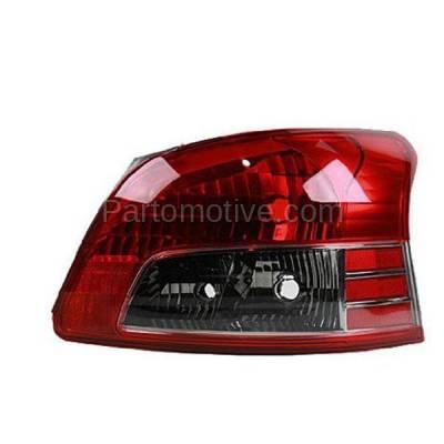 Aftermarket Auto Parts - TLT-1622RC CAPA 07-11 Yaris S Sedan Taillight Taillamp Brake Light Lamp Passenger Side RH