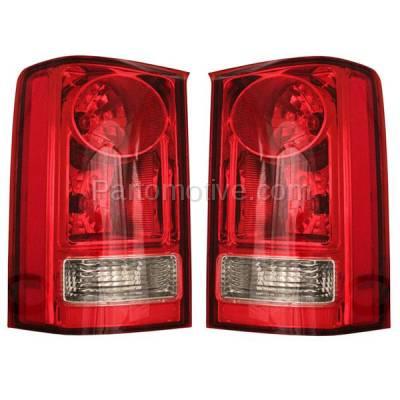 Aftermarket Auto Parts - TLT-1417LC & TLT-1417RC CAPA 09-13 Honda Pilot Taillight Taillamp Brake Light Lamp Right & Left Set PAIR