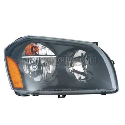 Aftermarket Replacement - HLT-1306RC CAPA 05-08 Magnum Headlight Headlamp Halogen Head Light Lamp Passenger Side DOT