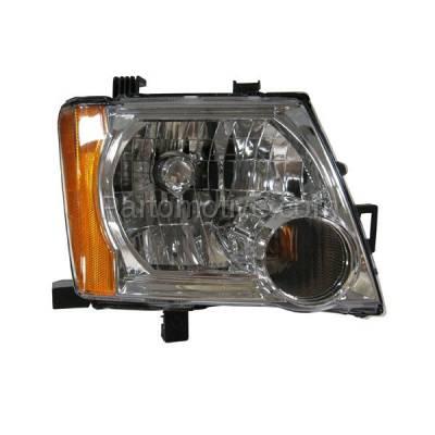 Aftermarket Replacement - HLT-1286RC CAPA 05-12 Xterra Headlight Headlamp Front Head Light Lamp Passenger Side SV SE