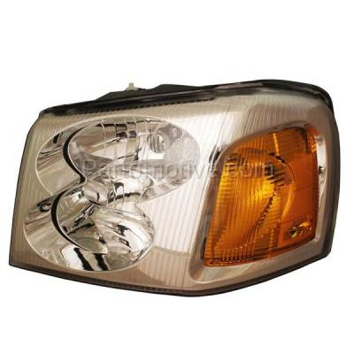 Aftermarket Replacement - HLT-1116LC CAPA 02-09 GMC Envoy XL XUV Headlight Headlamp Front Head Light Lamp Driver Side