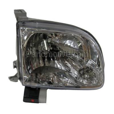 Aftermarket Replacement - HLT-1295RC CAPA 05-07 Sequoia Tundra Pickup Headlight Headlamp Head Light Passenger Side