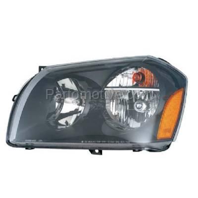 Aftermarket Replacement - HLT-1306LC CAPA 05-08 Magnum Headlight Headlamp Halogen Front Head Light Lamp Driver Side L