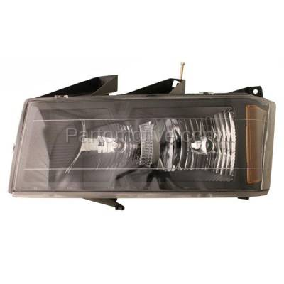 Aftermarket Replacement - HLT-1204LC CAPA 04-12 Colorado Canyon Headlight Headlamp Front Head Light Lamp Driver Side