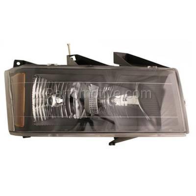 Aftermarket Replacement - HLT-1204RC CAPA 04-12 Colorado Canyon Headlight Headlamp Head Light Lamp Passenger Side RH