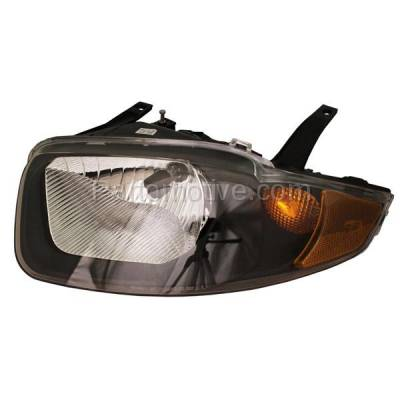 Aftermarket Replacement - HLT-1167LC CAPA 03-05 Chevy Cavalier Headlight Headlamp Front Head Light Lamp Driver Side