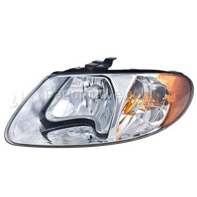 Aftermarket Replacement - HLT-1091LC CAPA 01-07 Dodge Caravan, Town & Country, Voyager Headlight Headlamp Driver Side