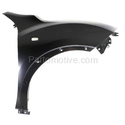 Aftermarket Replacement - FDR-1413RC CAPA 2011-2012 Nissan Juke (1.6 Liter Turbocharged Engine) Front Fender Quarter Panel (with Turn Signal Lamp and Flare Holes) Right Passenger Side