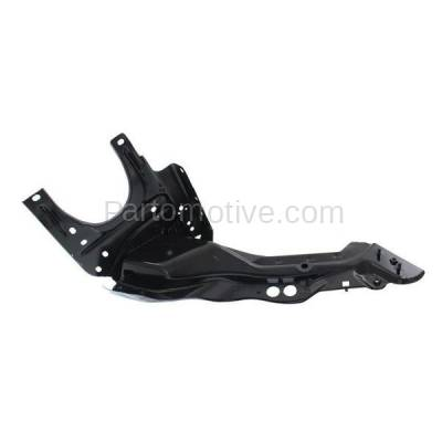 Aftermarket Replacement - RSP-1522R 2006-2011 Mercedes-Benz CLS-Class (219 Chassis) Front Radiator Support Outer Upper Tie Bar Panel Primed Steel Right Passenger Side