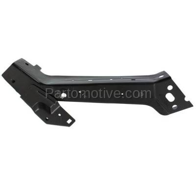 Aftermarket Replacement - RSP-1102RC CAPA 2014-2018 Dodge Durango & 2014-2017 Jeep Grand Cherokee Front Radiator Support Upper Bracket Brace Panel Primed Steel Right Passenger Side