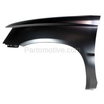 Aftermarket Replacement - FDR-1380L 01-07 Highlander Front Fender Quarter Panel Driver Side LH TO1240187 5380248070 - Image 1